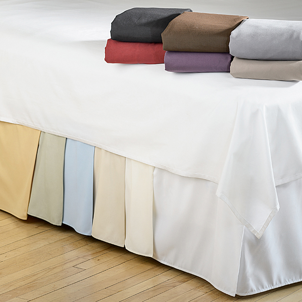 Microfiber 1500 Egyptian Quality Pleated Bed Skirt 14 Drop All Sizes Colors Ebay