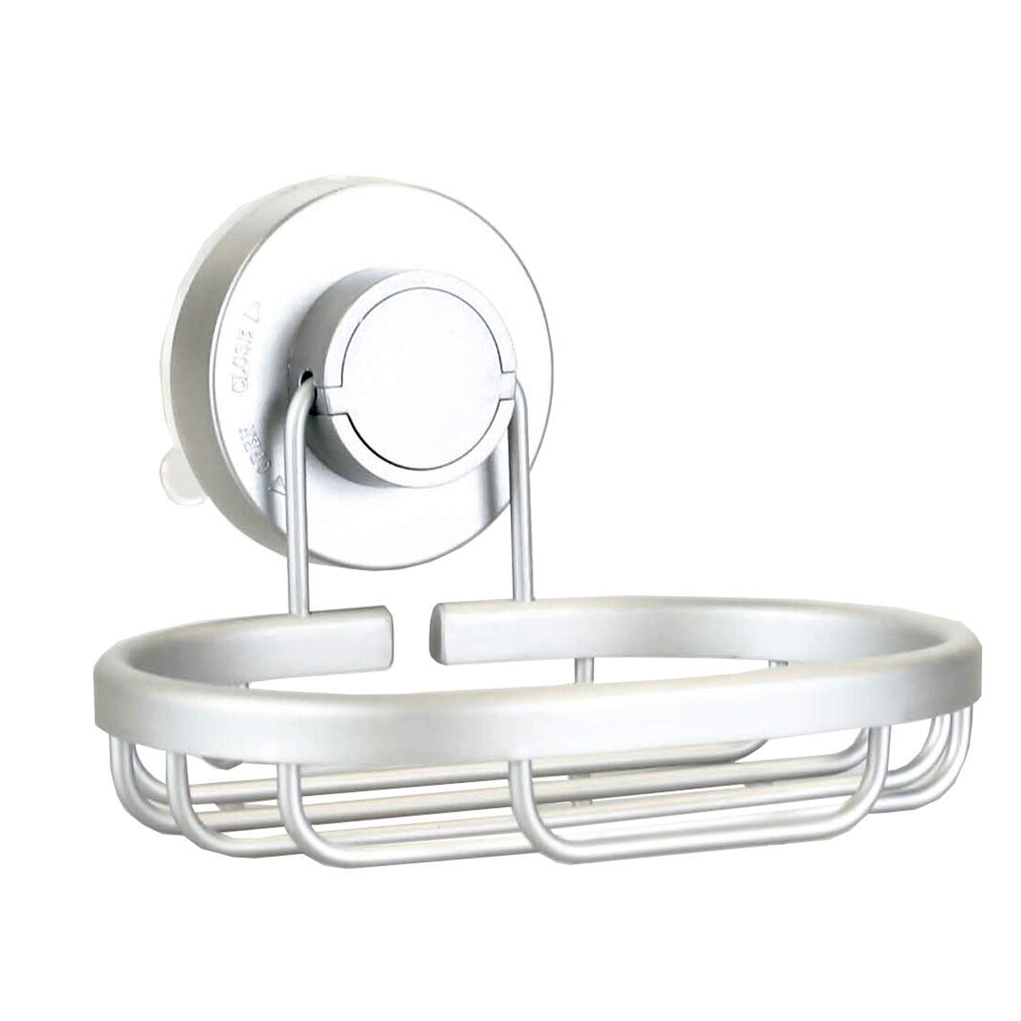 Super Suction Soap Dish Bathroom Powerful Suction Cup Soap Holder Rack Drainer